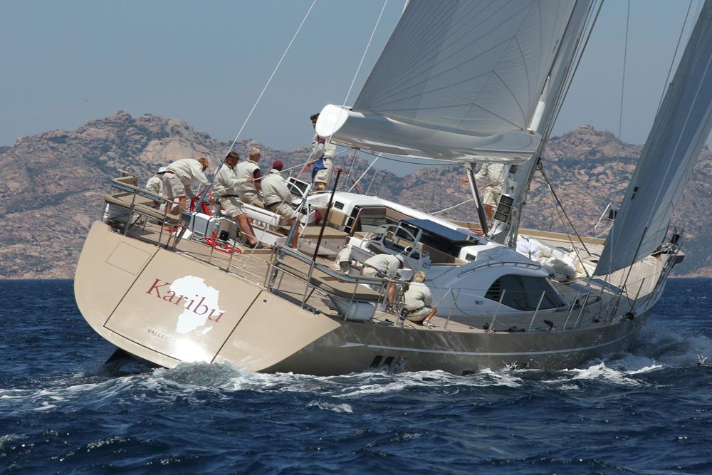 Cinq meilleurs yachts à voile britanniques