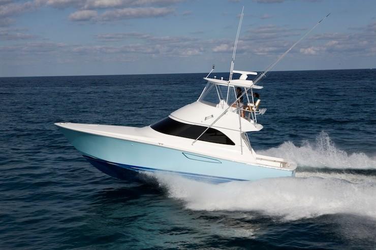 Bateaux croisière: Viking Yachts 42 convertible