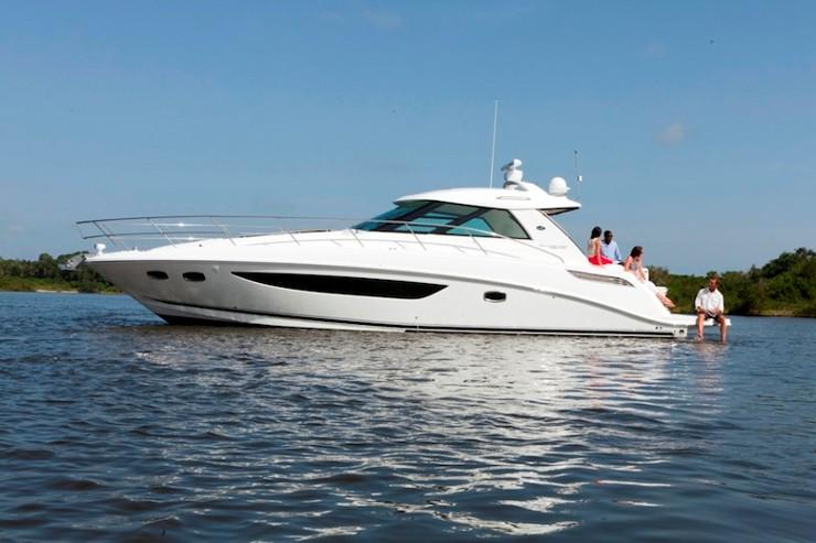 Bateaux croisière: Sea Ray 450 Sundancer