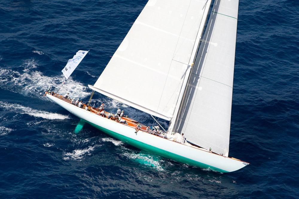 Gaia. Superyacht Cup Palma. Photo Clairematches.com.