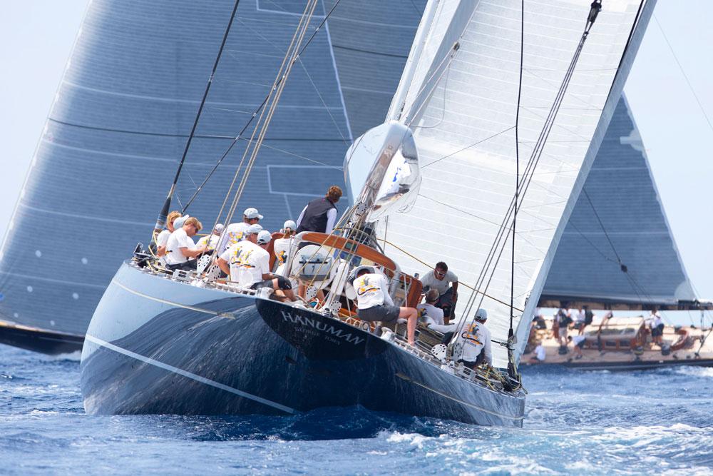 Hanuman. Superyacht Cup Palma. Photo Clairematches.com.