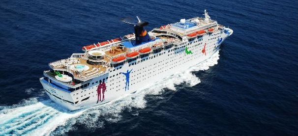 Cruise ships make the best party yachts