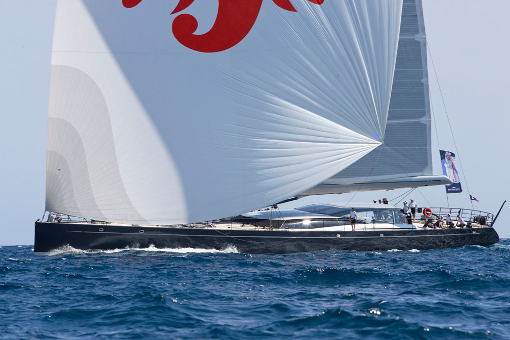 Ganesha. Superyacht Cup Palma. Photo Clairematches.com.