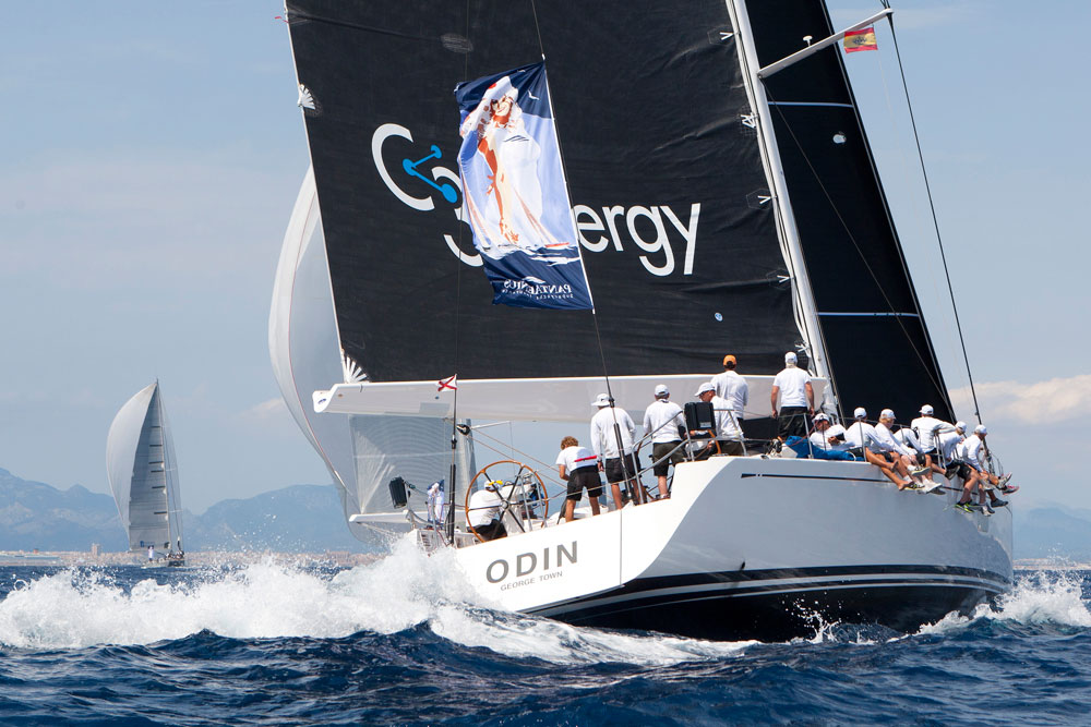 Odin Superyacht Cup Palma. Photo Clairematches.com.