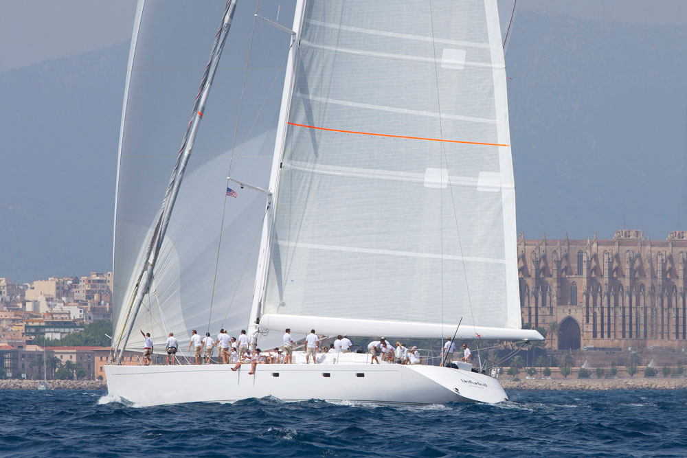 Unfurled. Superyacht Cup Palma. Photo Clairematches.com.