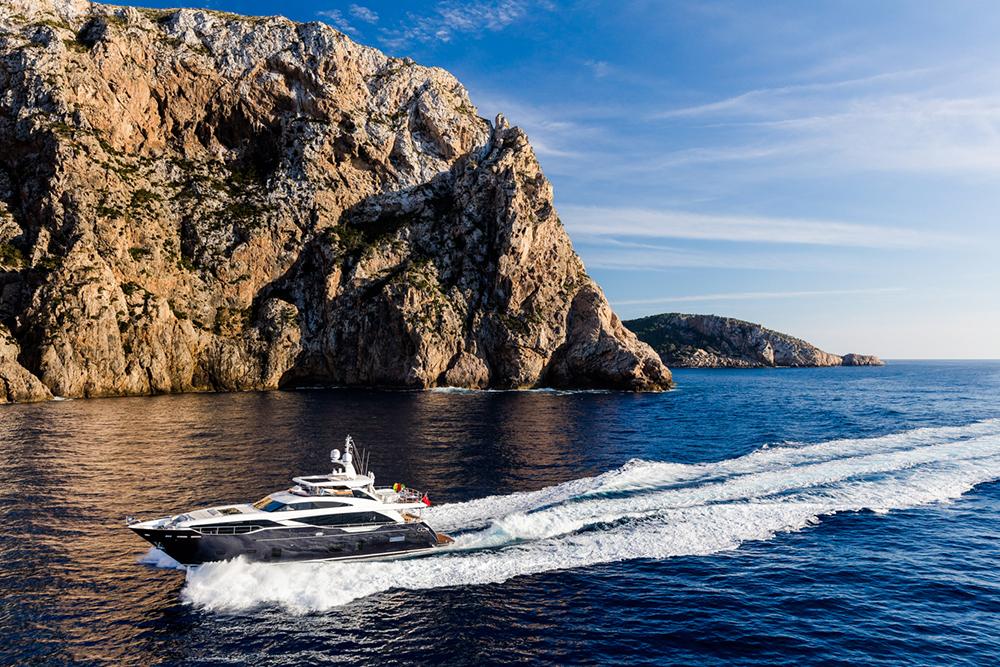 Princess 30M Yacht exterior